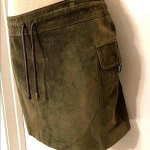 Wilson's Leather Maxima Suede Skirt - Size 8
